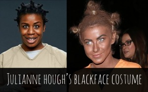 julianne-hough-blackface-halloween-costume-2